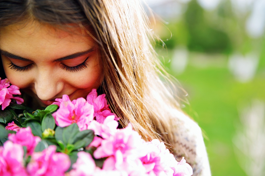 science, spirituality, flower