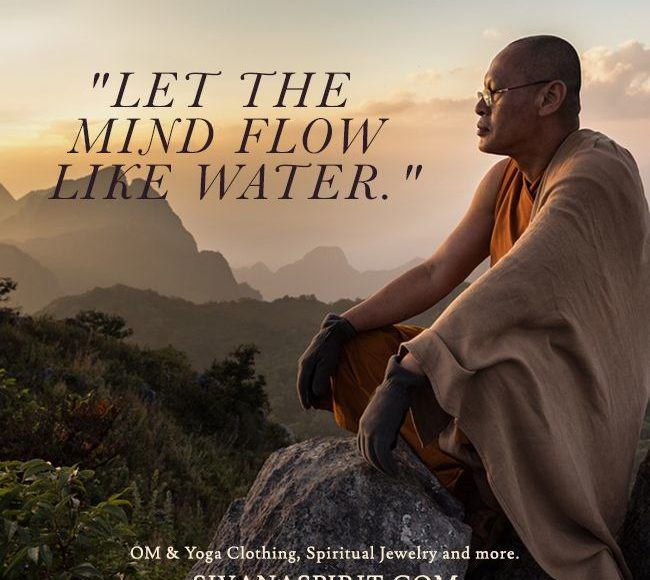 Quotes About Water | Quote Of The Day Let The Mind Flow Like Water