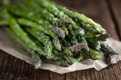 Roasted Asparagus with Lemon Thyme Clarified Butter
