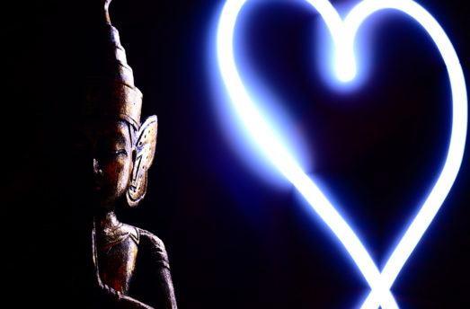 Buddha's 3 Rules For Mending A Broken Heart