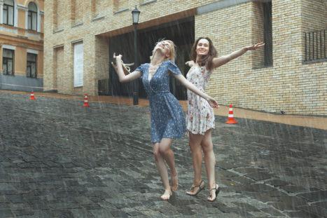When Times Are Tough, Dance In The Rain