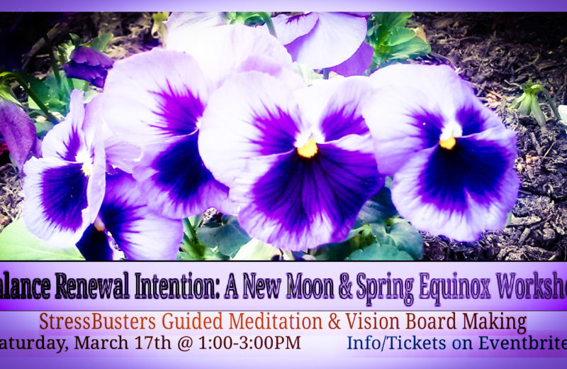 Balance Renewal Intention: A New Moon & Spring Equinox Workshop
