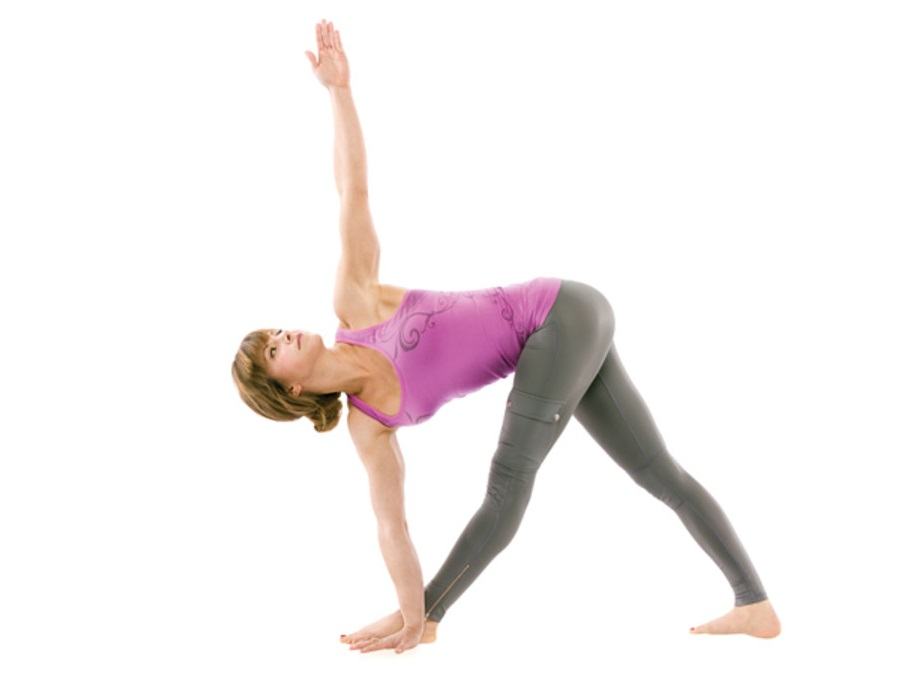 Famously Known As The Triangle Pose It Is Indeed Best Yoga Asana For Glowing Skin Which Opens Up Lungs Chest And Heart Supplies More Oxygen To