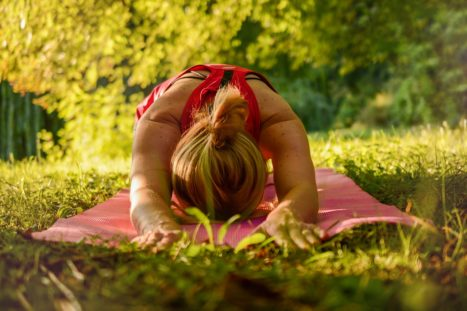 How To Create A Peaceful Backyard Yoga Space
