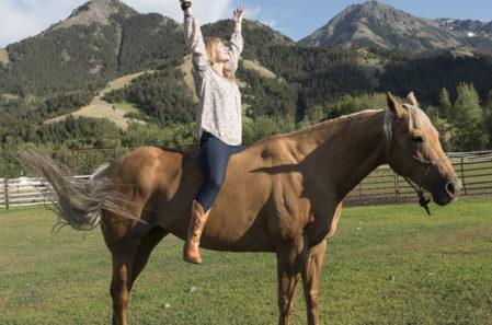 B-LUXE Cowgirl Yoga