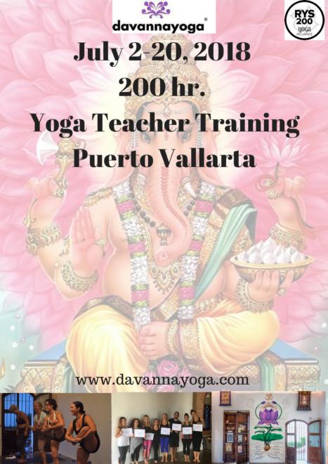 Summer Yoga Teacher Training In Puerto Vallarta