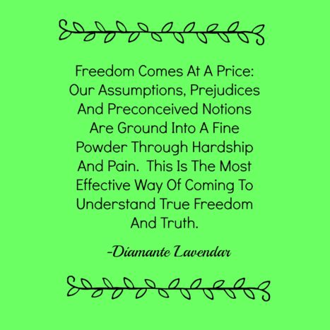 Freedom Comes After Decimation