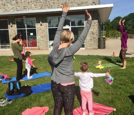 Teaching The Sun Salutation To Preschoolers