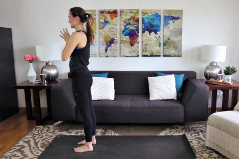 12-Minute Sun Salutation Yoga Flow