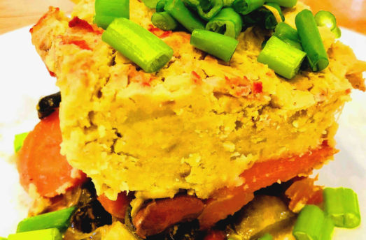 Recipe: Spicy Golden Veggie Casserole