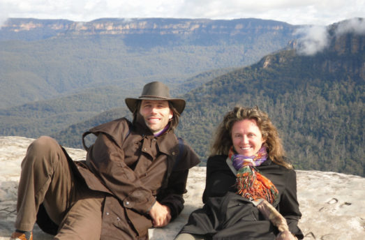 We're Elena Puntaroli And Lorenzo Sbrinci, And This Is Our Dharma