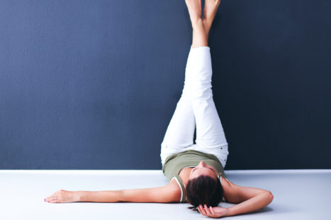 The One Yoga Posture You Need To Help With Anxiety