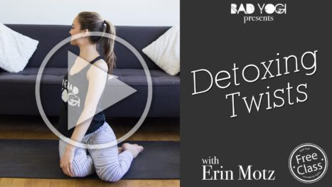 Detoxing Twists Yoga