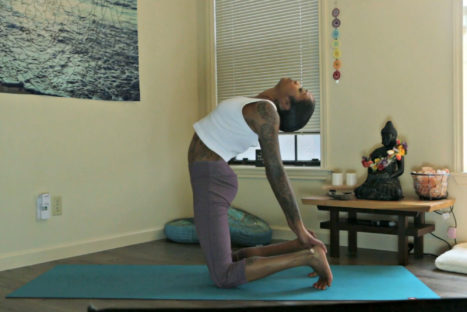 Gentle And Trauma-Sensitive Yoga Sequence For Grounding And Upper Body Release