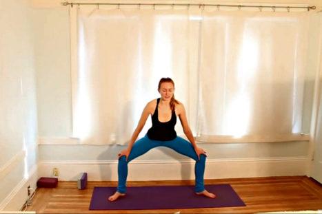 Vinyasa Flow Yoga – Mobilize & Stabilize Shoulders & Low Back