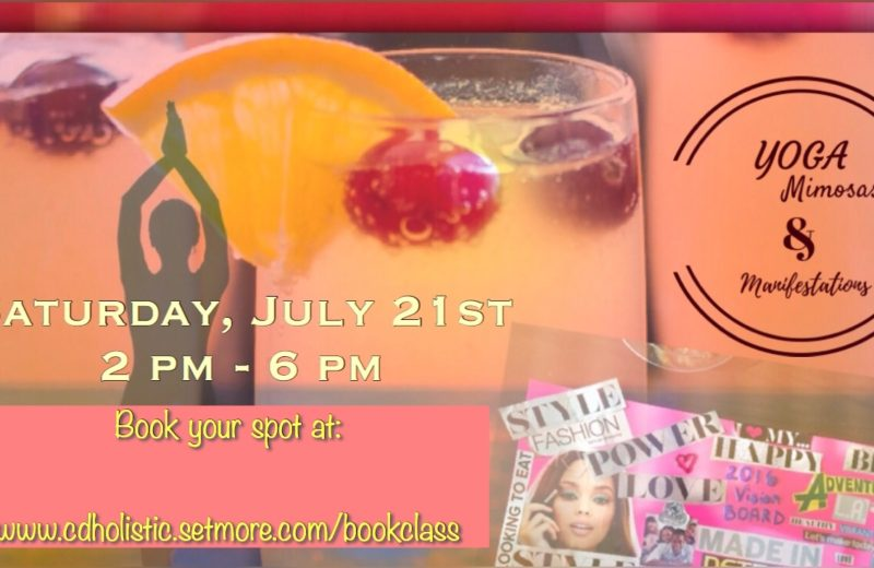 Yoga, Mimosas & Manifestation