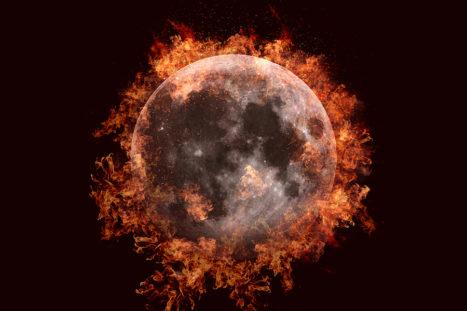 July 27: LUNAR ECLIPSE – Mars + Mercury Retrograde – Fire Powered (Vedic Astrology)