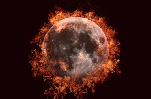July 27: LUNAR ECLIPSE - Mars + Mercury Retrograde - Fire Powered (Vedic Astrology)