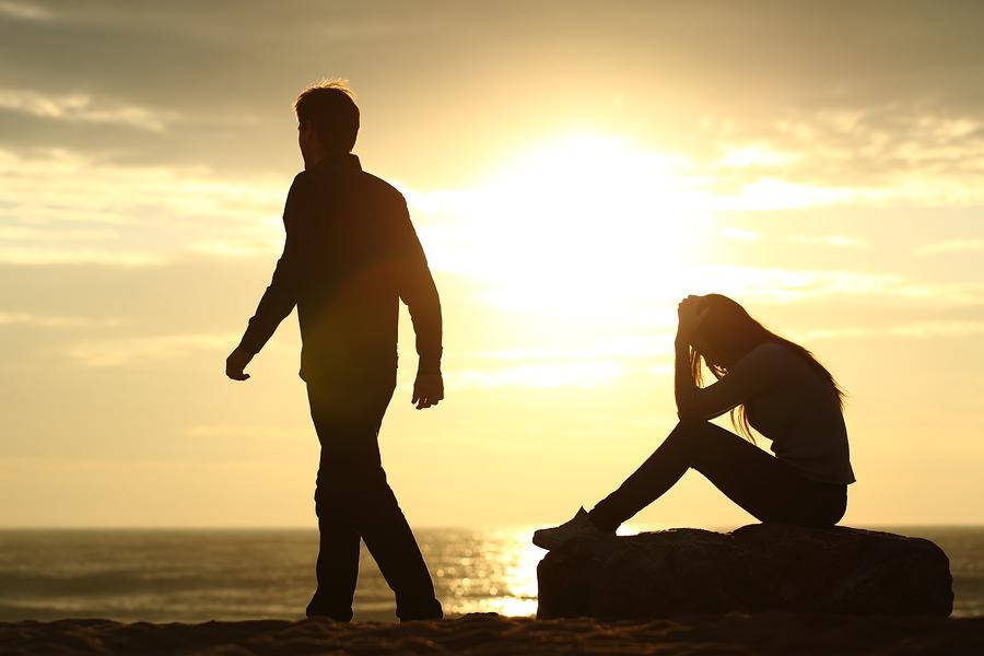 Любовные картинки расставания, выходом