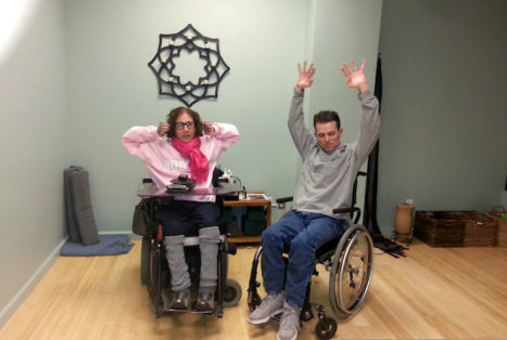 How I Found Yoga As A Quadriplegic