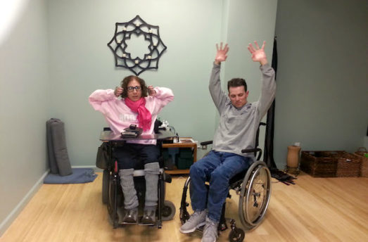 How I Found Yoga As A Quadriplegic