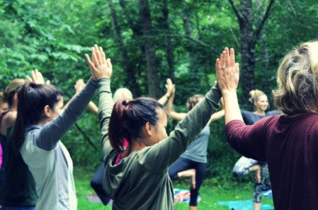 Back To Nature Women's Yoga Retreat In Oregon
