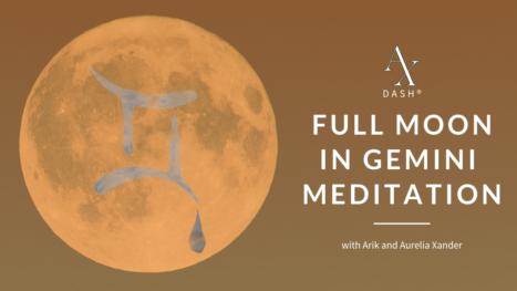 Full Moon In Gemini