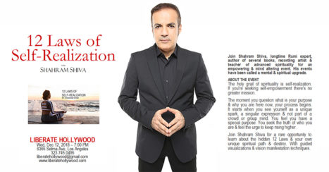 The 12 Laws Of Self-Realization With Shahram Shiva