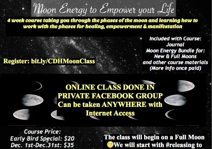 Understanding And Working With Moon Energy To Empower Your Life