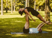 5 Couples Yoga Poses That Will Strengthen Your Relationship